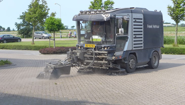 veegmachine verhuur freek